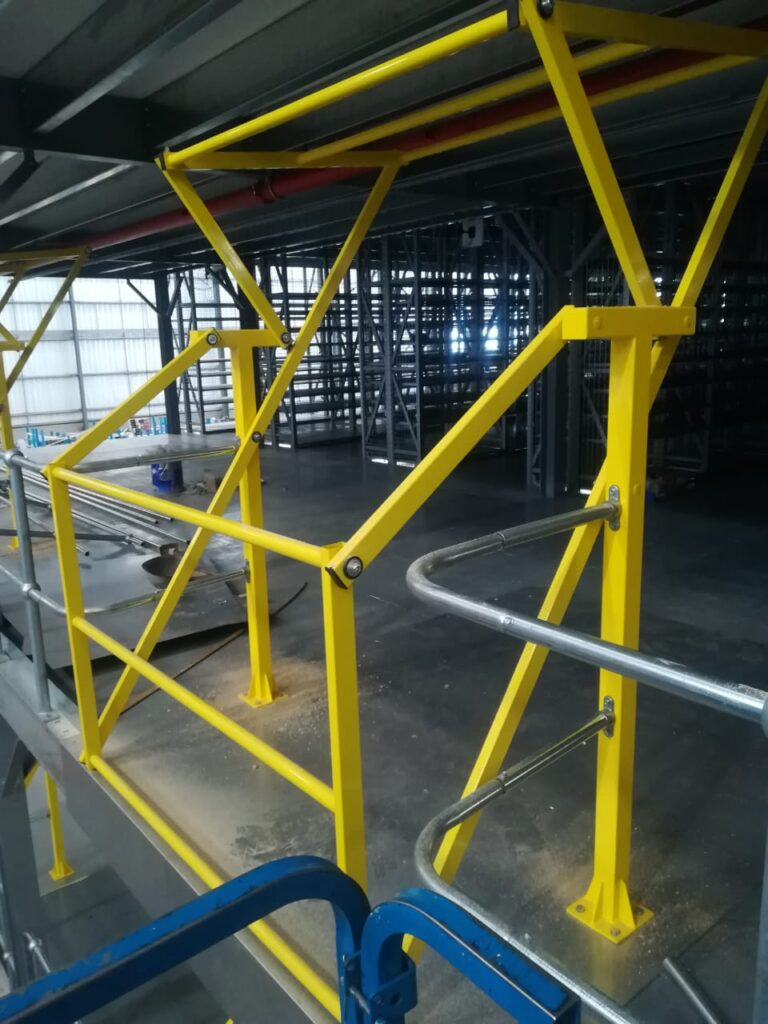 Pallet safety gate retail e-commerce industry